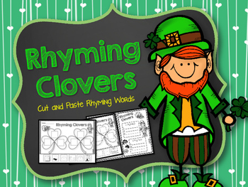 St. Patrick's Day Rhyming Clovers