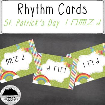 St. Patrick's Day Rhythm Cards