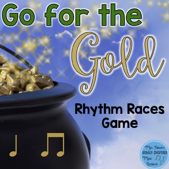 St. Patrick's Day Rhythm Races Game {Ta and Ti-Ti}