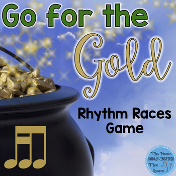 St. Patrick's Day Rhythm Races Game {Tika-Ti}