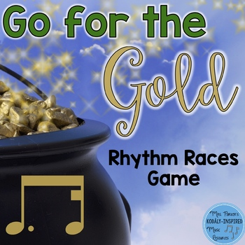 St. Patrick's Day Rhythm Races Game {Tim-Ka}