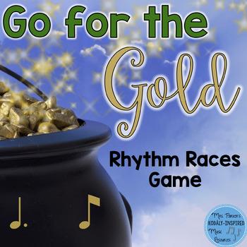St. Patrick's Day Rhythm Races Game {Tom Ti}