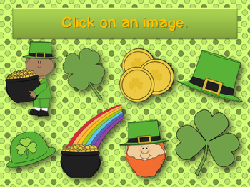 St. Patrick's Day Rhythm Reading Practice Interactive Game {synco-pa}