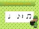 St. Patrick's Day Rhythm Reading Practice Interactive Game {tom ti}