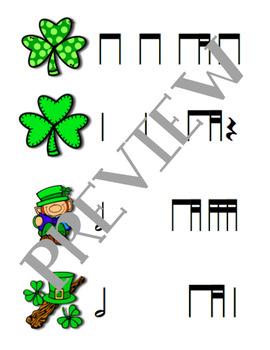St. Patrick's Day Rhythm Relay