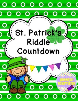 St. Patrick's Day Riddle Countdown