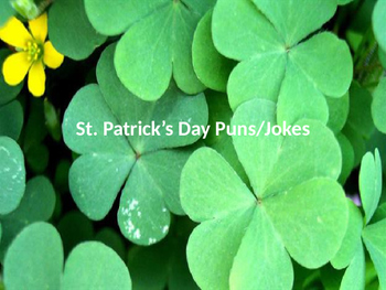 St. Patrick's Day Riddles