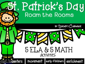 St. Patrick's Day Roam the Rooms Pack