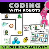 St. Patrick's Day Robot Activity Bee Bot