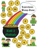 St. Patrick's Day Roll 2 Multiplication Bump Game