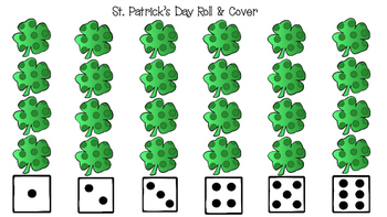 St. Patrick's Day Roll and Color/Cover