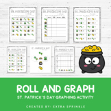 St Patrick's Day Roll and Graph Activity
