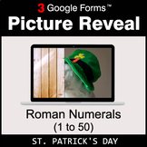 St. Patrick's Day: Roman Numerals (1 to 50) - Google Forms