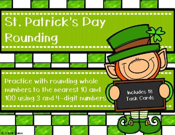 Rounding to the Nearest 10 and 100 {St. Patrick's Day}