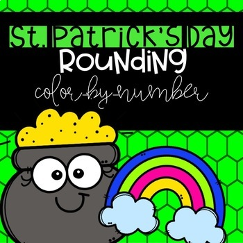 St. Patrick's Day Rounding Color-By-Number