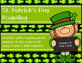 Rounding to the Nearest 10 {St. Patrick's Day}