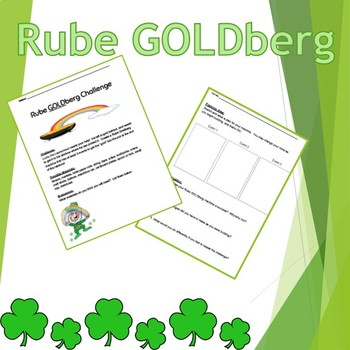 St. Patrick's Day Rube GOLDberg STEM Challenge