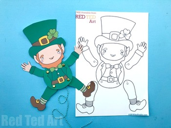 St Patrick's Day STEAM Craft Activity (Lesson Plan & Printable)