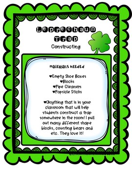 St. Patrick's Day STEM Activities