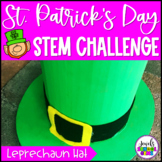 St. Patrick's Day STEM Activities (Leprechaun Hat STEM Challenge)