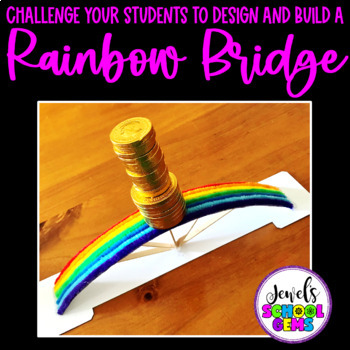 St. Patrick's Day STEM Activities (Rainbow Bridge STEM Challenge)