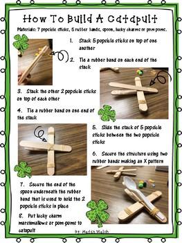 St. Patrick's Day STEM Catapult