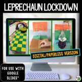 St. Patrick's Day STEM Challenge: Leprechaun Lockdown Paperless Version
