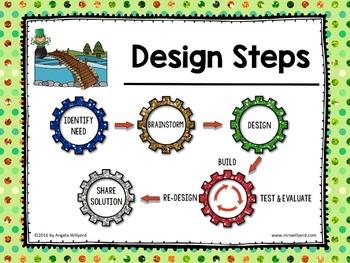 St. Patrick's Day STEM Challenge: Paper Bridge - PPT - Grades 5-8