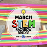 St. Patrick's Day STEM Challenge Rainbow Bridge STEM Activity