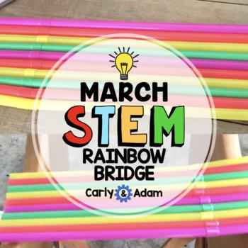St. Patrick's Day STEM Challenge: Rainbow Bridge - NGSS Aligned