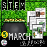 St. Patrick's Day STEM Challenges Bundle