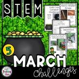 St. Patrick's Day STEM Challenges Bundle