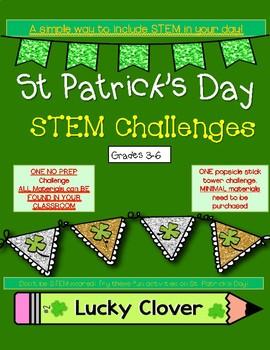 St Patrick's Day STEM Challenges