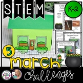 St. Patrick's Day STEM Challenges K-2 Bundle