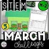 St. Patrick's Day STEM Challenges K-2 Bundle