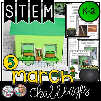 St. Patrick's Day STEM March Challenges K-2
