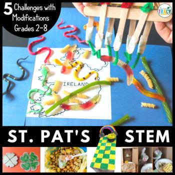 St. Patrick's Day STEM Challenge Bundle