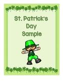 St. Patrick's Day Sample
