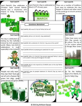 St. Patrick's Day Scavenger Hunt