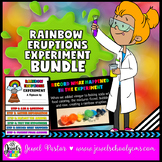 St. Patrick's Day Science Activities (Rainbow Eruptions Science Experiment)