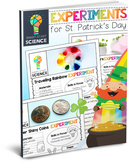 St. Patrick's Day Science Experiment Pack
