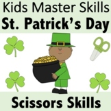 St. Patrick's Day Scissors Skills Activities