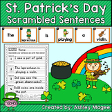 St. Patrick's Day Scrambled Sentences Center