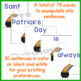 Saint Patricks Day Fact and Opinion Sight Word Scrambled Sentences 1st to 3rd