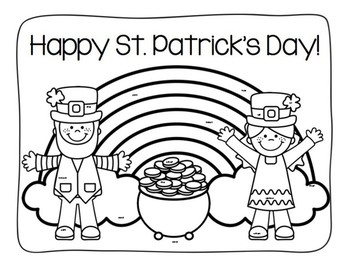 St. Patrick's Day Search & Find