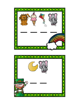 St. Patrick's Day Secret Sight Word Decode