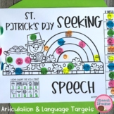 St Patricks Day Speech Therapy Activities | Articulation a