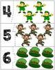 St. Patrick's Day Self Correcting Quantity Puzzles | Numbers 1-10