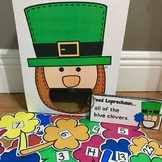 St. Patrick's Day Sensory Bin Activities:  Feed Leprechaun