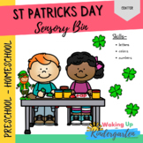 St. Patrick's Day - Sensory Bins - Toddler/Preschool